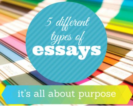 Types of essay