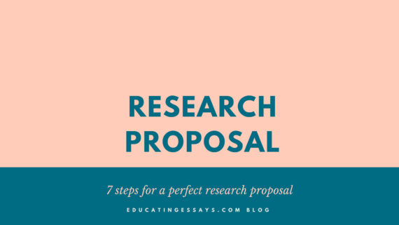 7 steps for a perfect research proposal